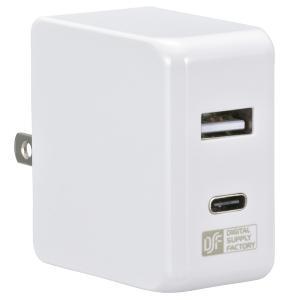 AC充電器 スマホ充電器 USB充電器 タイプCポート搭載 コードなし