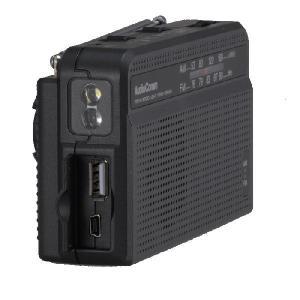 手回し充電ラジオライト 防災ラジオ スマートフォン充電 RAD-V945N AudioComm 07-7945 OHM オーム電機|e-price|02