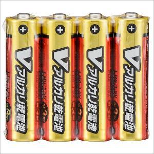 単3形 Vアルカリ乾電池 4本入 LR6/S4...の関連商品9