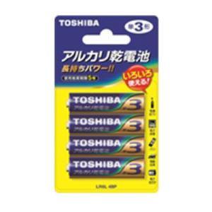 単3電池 アルカリ単3電池 4個入り 東芝