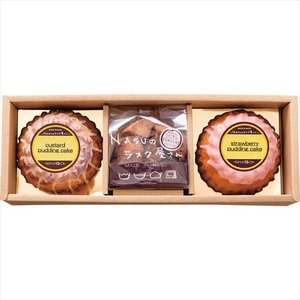 NASUのラスク屋さん  プリンケーキ&ラスク (NSA-CA)  カスタードプリン味のケーキと人気のラスク 21s0400-021 e-prom