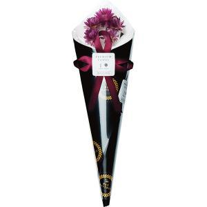 フェイスタオル花束 ホワイト (FL35BK)  ドライフラワーと吸水タオルで作った花束 e-prom