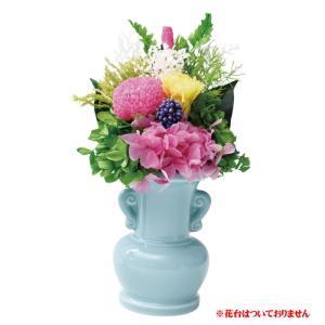 プリザーブドフラワー ご仏壇用お供え花 (E9102-74) 水換え不要の仏花 e-prom