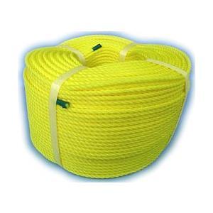 材質:ポリエチレン 色 :黄色 太さ:約 5mm 長さ:約 200m