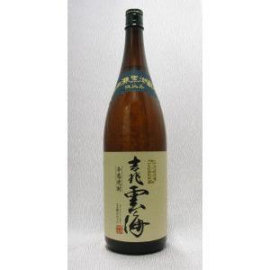 吉兆雲海 そば焼酎 25度 1800ml 「宮崎」雲海酒造(株)|e-sakedot