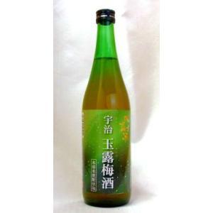 宇治玉露梅酒 720ml (株)北川本家 京都の酒 伏見|e-sakedot