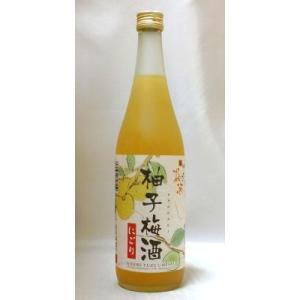 にごり柚子梅酒 720ml (株)北川本家 京都の酒 伏見|e-sakedot