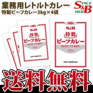 特製ビーフカレー3kg×4袋 S&B SB エスビー食品 e-sbfoods