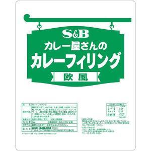 カレー屋さんのカレーフィリング欧風 2kg×6袋 S&B SB エスビー食品|e-sbfoods