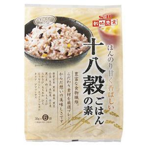 穀物充実十八穀ごはんの素 180g(30g×6袋)|e-sbfoods