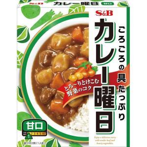 カレー曜日 甘口230g  S&B SB エスビー食品|e-sbfoods