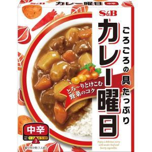 カレー曜日 中辛230g  S&B SB エスビー食品|e-sbfoods