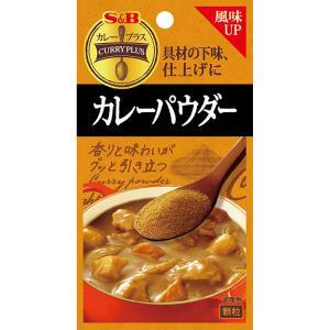 カレープラス カレーパウダー20g  S&B SB エスビー食品|e-sbfoods