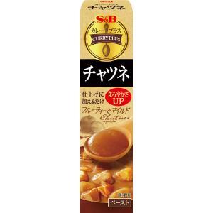 カレープラス チャツネ43g  S&B SB エスビー食品|e-sbfoods