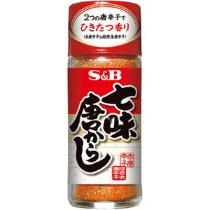 七味唐からし 28g S&B SB エスビー食品|e-sbfoods