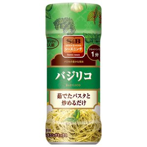 S&Bシーズニング バジリコ(ボトル) 40g  S&B SB エスビー食品|e-sbfoods