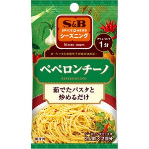 S&Bシーズニング ぺペロンチーノ 12g  S&B SB エスビー食品|e-sbfoods