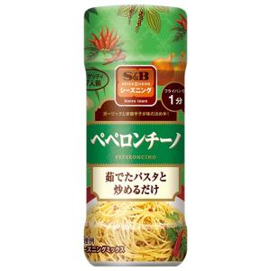 S&Bシーズニング ペペロンチーノ(ボトル)  53g S&B SB エスビー食品|e-sbfoods