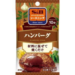 S&Bシーズニング ハンバーグ 14g S&B SB エスビー食品