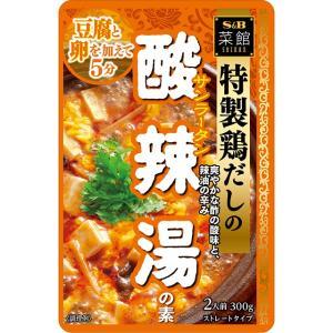 菜館 酸辣湯の素  300g S&B SB エスビー食品|e-sbfoods