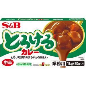 とろけるカレー中辛1kg S&B SB エスビー食品|e-sbfoods