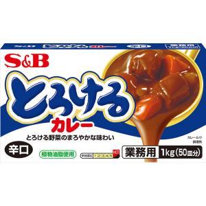 とろけるカレー辛口1kg S&B SB エスビー食品|e-sbfoods