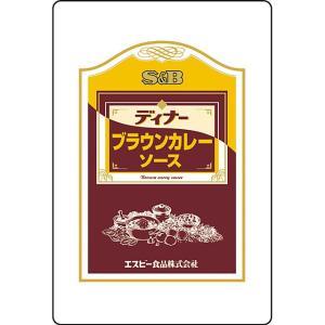 ディナーブラウンカレーソース 3kg×4袋 S&B SB エスビー食品|e-sbfoods