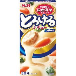 とろけるシチュー クリーム100g S&B SB エスビー食品|e-sbfoods