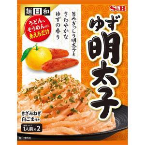 麺日和 ゆず明太子 S&B SB エスビー食品 e-sbfoods