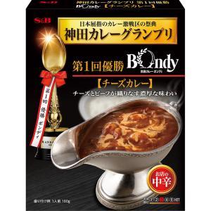 神田カレーグランプリ 欧風カレーボンディ チーズカレー お店の中辛 S&B SB エスビー食品|e-sbfoods