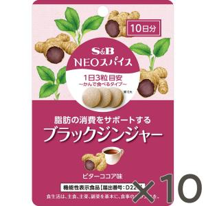 NEOスパイスブラックジンジャー(通信販売限定)×10個送料無料 S&B SB エスビー食品