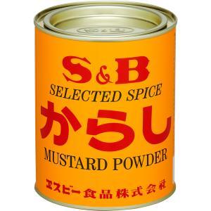 からし 400g缶 S&B SB エスビー食品|e-sbfoods
