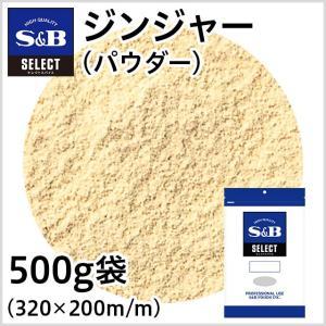 セレクトジンジャー パウダー 袋500g 業務用しょうが 生姜 ショウガ お徳用 SB S&B エスビー|e-sbfoods
