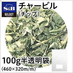 ◆セレクトチャービル チップ 袋100g S&B SB エスビー食品|e-sbfoods