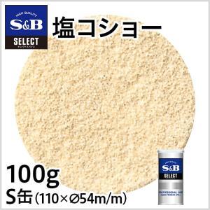 セレクト 塩コショーS缶100g S&B SB エスビー食品|e-sbfoods