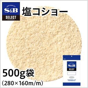 セレクト 塩コショー500g袋入り S&B SB エスビー食品|e-sbfoods