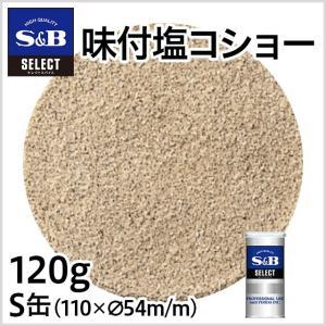 セレクト味付塩コショー S缶120g S&B SB エスビー食品|e-sbfoods