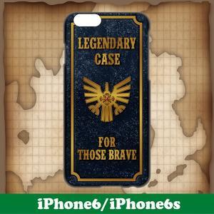 iPhone6/6s/7 ケース カバー おしゃれ おもしろ パロディ 紋章 ブラック