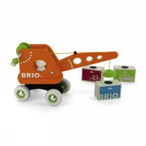 BRIO(ブリオ) クレーンと荷物|e-sekaiya