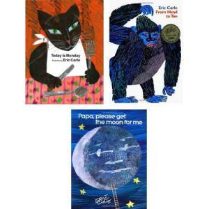 洋書絵本 英語 Eric Carle Picture Books(エリック・カール ピクチャーブックス) Aセット(3冊組)|e-sekaiya