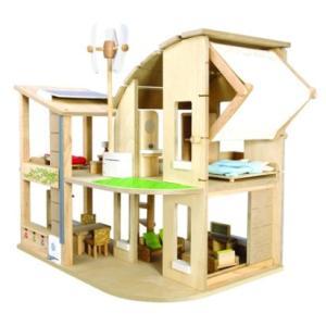 PLANTOYS(プラントイ) 家具付きグリーンドールハウス|e-sekaiya