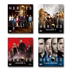 HEROES 全巻(シーズン1〜4ファイナル) バリューパック DVDセット|e-sekaiya