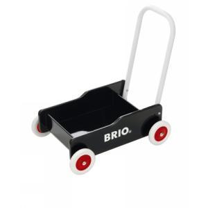 木製玩具 BRIO(ブリオ) Wooden Toy 手押し車(黒)|e-sekaiya