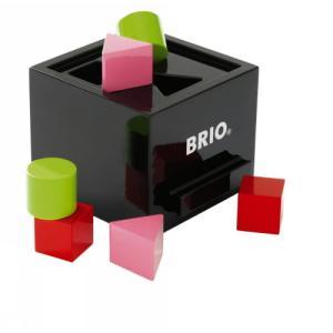 木製玩具 BRIO(ブリオ) Wooden Toy 形合わせボックス(黒)|e-sekaiya