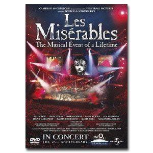 レ・ミゼラブル(Les Miserables) 25周年記念コンサート DVD|e-sekaiya
