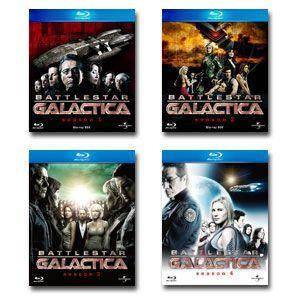 GALACTICA/ギャラクティカ シリーズ全巻(1〜4) ブルーレイBOX セット|e-sekaiya