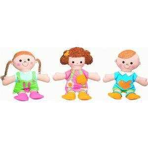 布製 きせかえ人形あそびセット(3体組)|e-sekaiya
