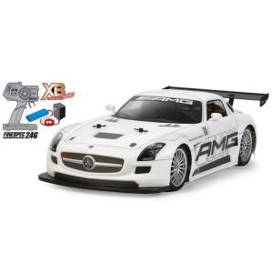 ラジコン(完成品)  1/10RC XB メルセデス・ベンツ SLS AMG GT3 (TT-02シャーシ)|e-sekaiya