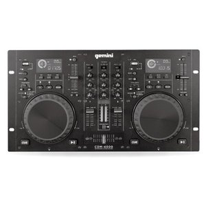 DJワークステーション GEMINIデュアルCDJPLAYER+MIXER CDM-4000|e-sekaiya
