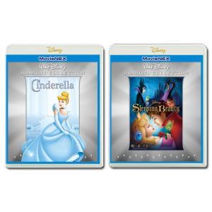 「シンデレラ」 + 「眠れる森の美女」 ディズニー プリンセス ダイヤモンド・コレクション MovieNEX セット|e-sekaiya